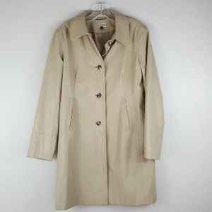 Giacca by Gallery - 1990's Tan Trench Coat